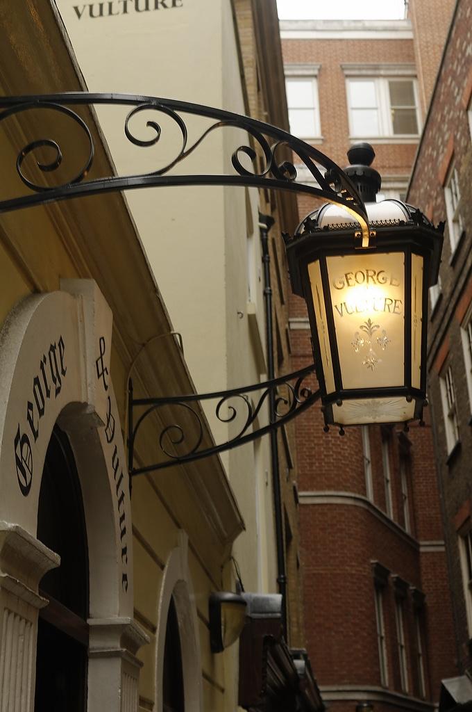 The George & Vulture, restaurant à Londres