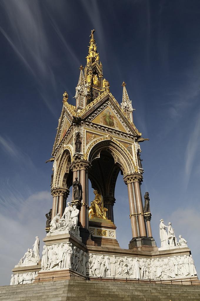 l'Albert Memorial à Londres