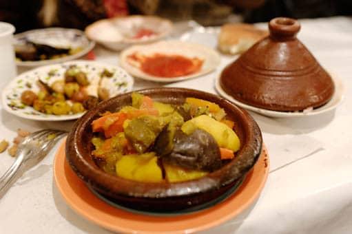 plat de tajine marocain
