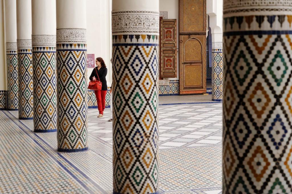 Intérieure du musée de Marrakech