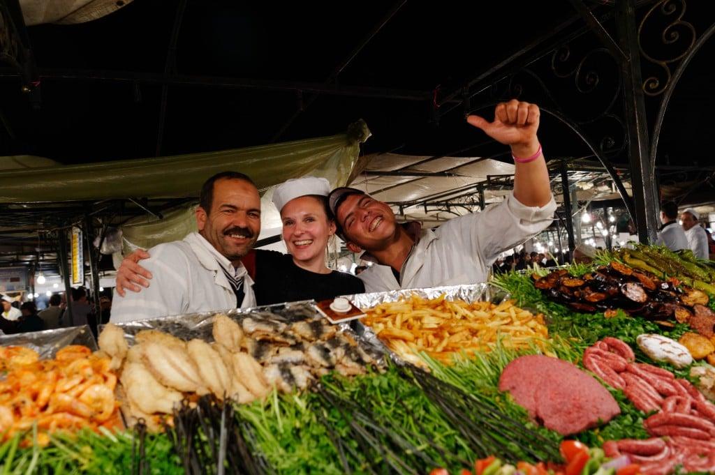 Chez Ali, le stand de la place Djemaa El Fna le plus sympa