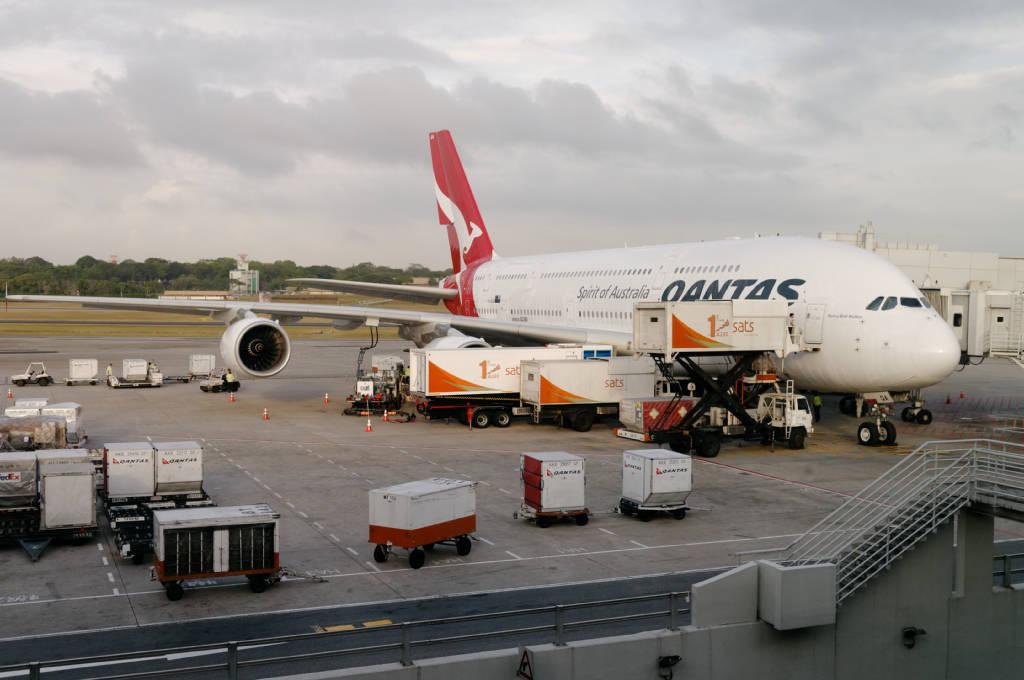 Vol Londres-Singapour-Sydney sur A 380 de la compagnie Quantas