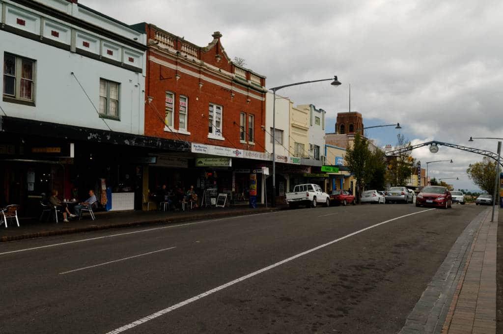 Katoomba capitale des Blue Mountains