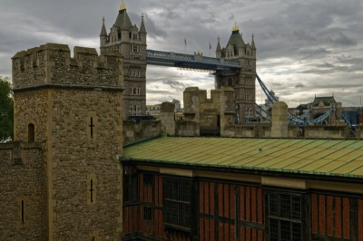 Tower Bridge depuis la Tour de Londres