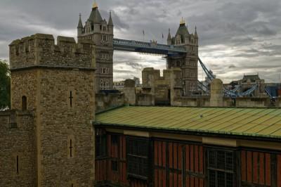 Tower Bridge depuis la Tour de Londres