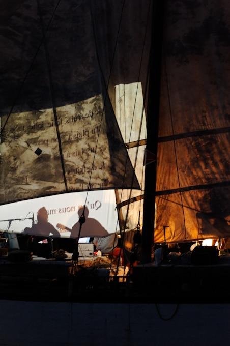Concert au port de plaisance de Noirmoutier