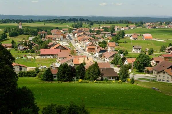 Le village des Fourgs