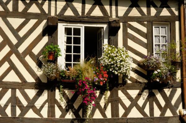Maison à pans de bois normande