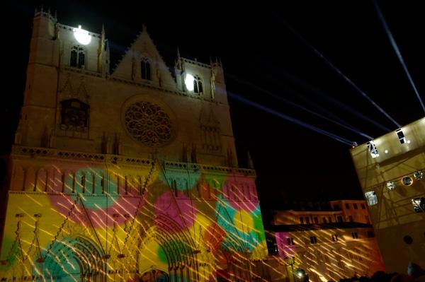 Mapping sur la Cathédrale Saint Jean