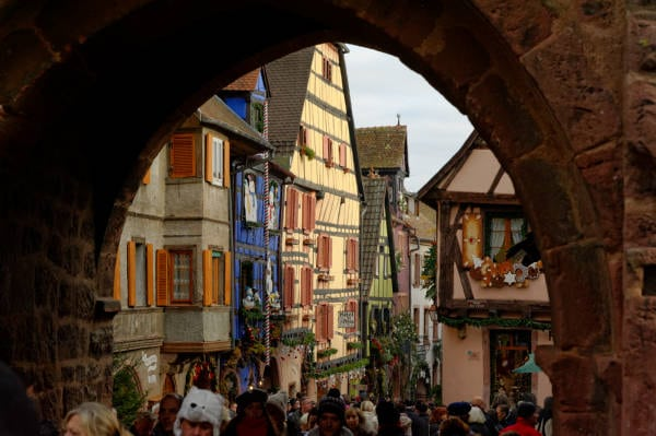 Marche de Noël d'Alsace : Riquewihr