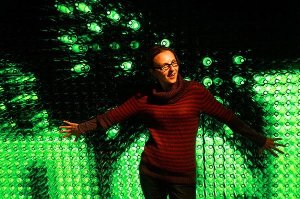 Amsterdam Heineken experience bouteilles