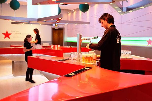 bar de la Heineken Experience