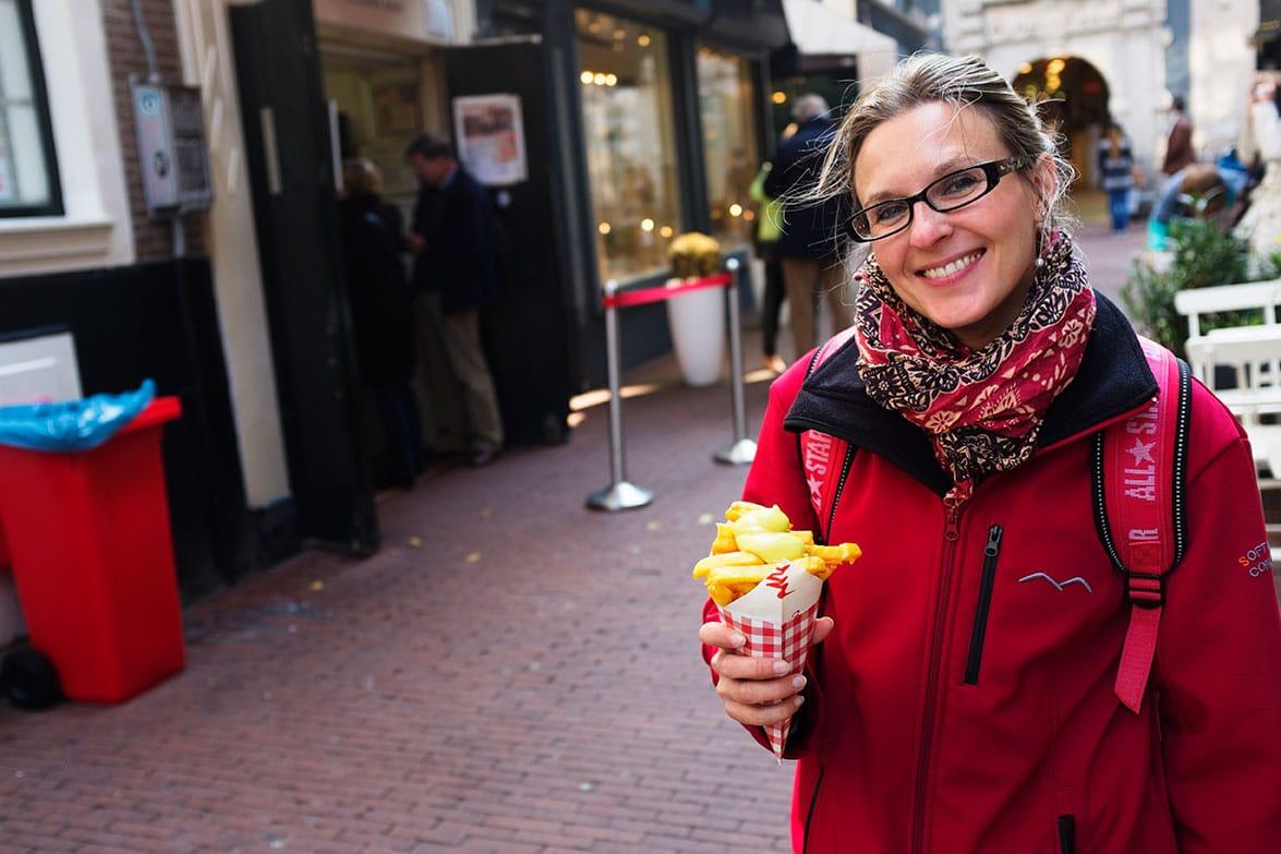 Vleminckx : pour manger des bonnes frites à Amsterdam