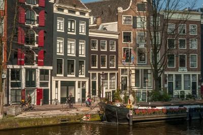 Prinsengracht :  le canal du Prince