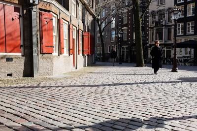 Autour de Oude Kerk à Amsterdam