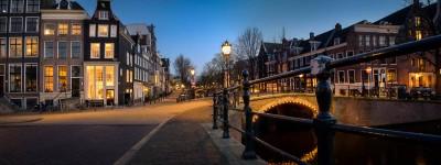 Les canaux d'Amsterdam : Reguliersgracht