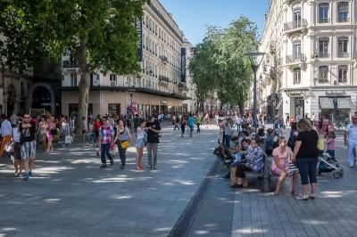 Lyon rue de la République
