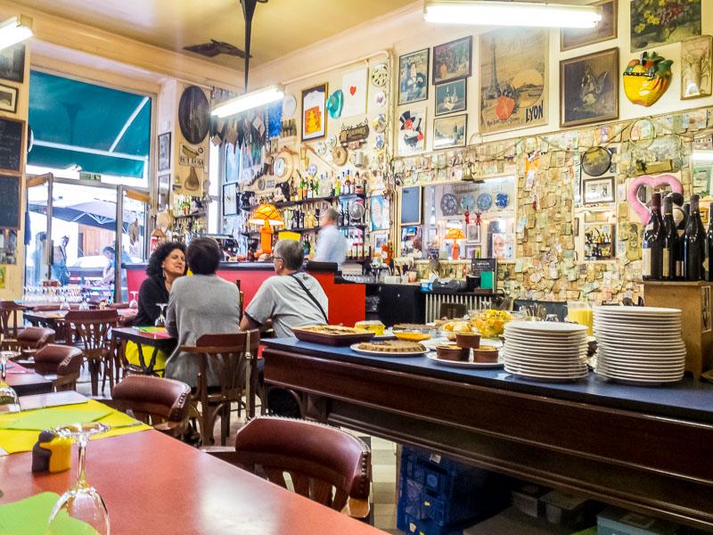 Lyon Bouchons Restaurants