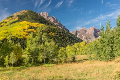 Maroon Bells, near Aspen Colorado
