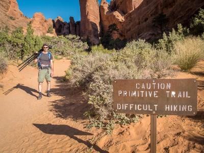Arches National Park randonnée à Devil's Garden