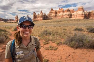 Sheilan, Ranger à Canyonlands National Park
