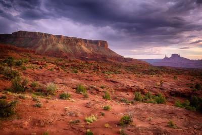 Autour de Moab : Castle Valley