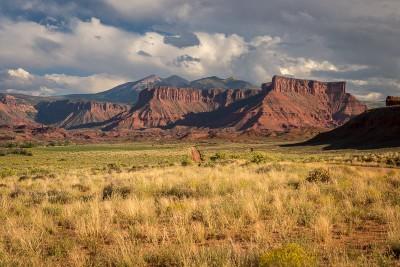 Autour de Moab : Castle Valley et La Sal Mountain