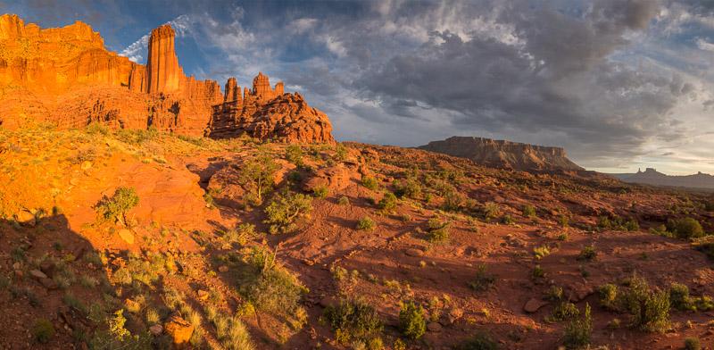 Autour de Moab : Fisher Towers