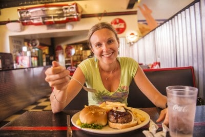Burger à Williams Route 66