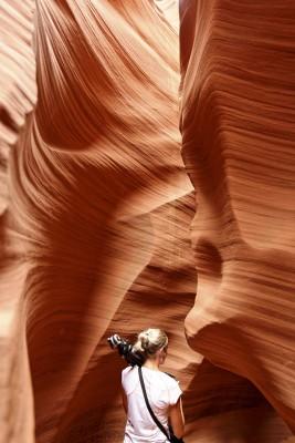 Visite d'Antelope Canyon