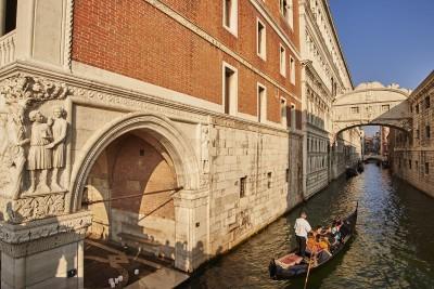Venise : le pont des soupirs