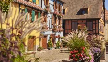 Route des vins d'Alsace : Ribeauvillé, la ville haute