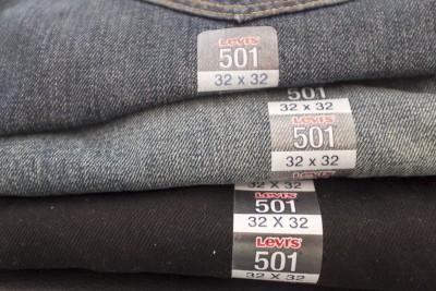 Souvenir des USA : Jeans Levis 501