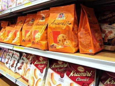 cuisine italienne : supermarché