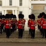Relève de la garde à Buckingham Palace