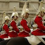 Relève de la garde montée à Londres