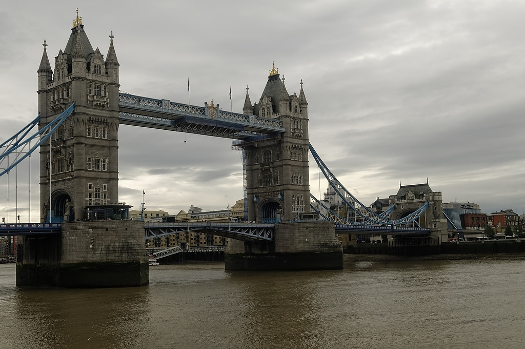 La City,  La Tour de Londres et Tower Bridge