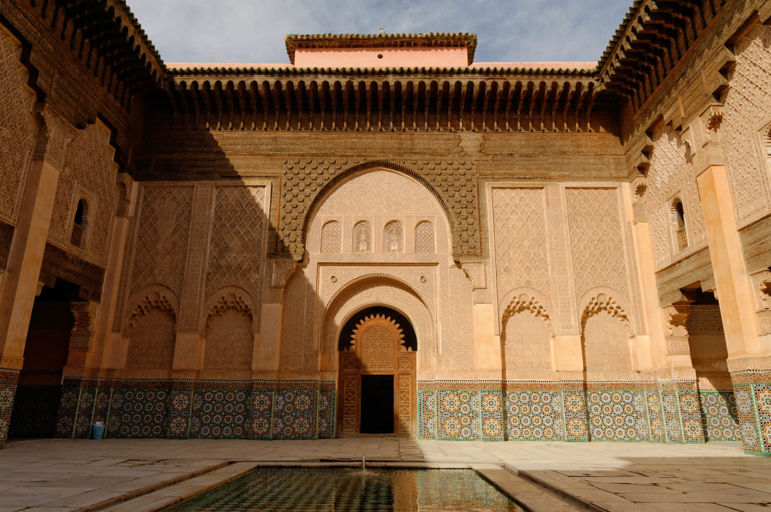 Cours intérieure de la Medersa Ben Youssef