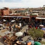 Place des épices à Marrakech
