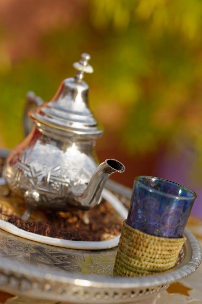 Le thé à la menthe marocain