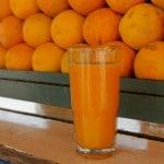 Jus d'orange pressées