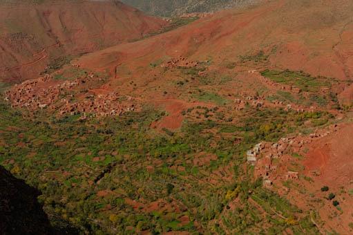 Traversée de villages Berbères
