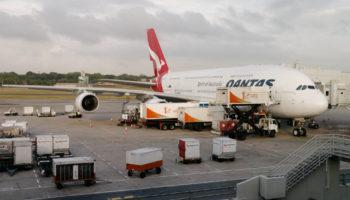 Airbus A 380 quantas