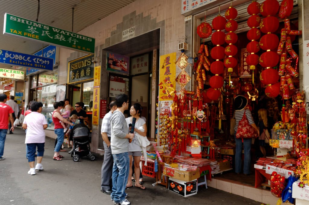 Boutique à Chinatown