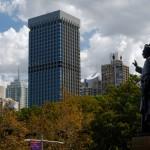 Sydney CBD and Hyde Park