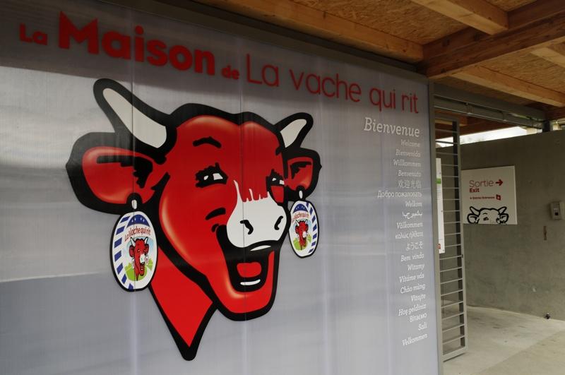 Lons-le-Saunier, berceau de la Vache-Qui-Rit