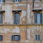 Façade quartier Trastevere