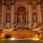 Fontaine de Trevi by night