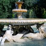 Fontaine Villa Borghese