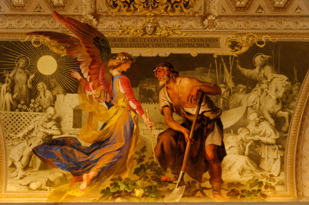 Fresque du Vatican a Rome